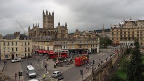 View of Bath stock footage