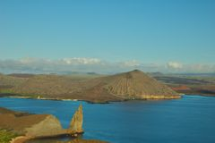 View from Batolome Island, Galapagos Islands Stock Images