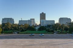 View of Baton Rouge, Louisiana royalty free stock photo
