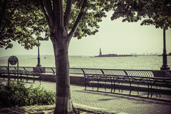 View from Battery Park Stock Photography