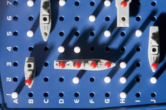 View Of Battleship Game Royalty Free Stock Photography