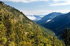 View on Bavarian Alps Royalty Free Stock Photos
