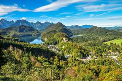 An elevated view of Bavaria stock photo