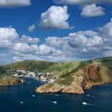 View of the bay of Balaklava Stock Photos