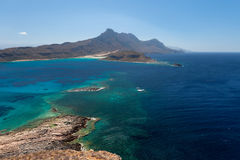 View of the Bay of Balos Stock Photos