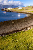 View on bay in Djupivogur - Iceland Royalty Free Stock Photography