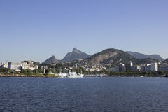 View of the Bay of Guanabara - Olympic Sailing Stock Photos