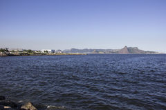 View of the Bay of Guanabara - Olympic Sailing Royalty Free Stock Photos