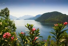 View of the bay. Icmeler Royalty Free Stock Images