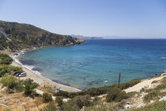 View on bay, island of Naxos, Greece Royalty Free Stock Images