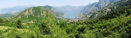 View at the bay of Kotor Royalty Free Stock Photo