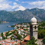 View on Bay of Kotor Royalty Free Stock Images
