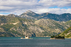 View of Bay of Kotor. Montenegro Royalty Free Stock Image