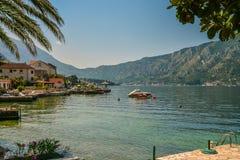 View of Bay of Kotor Royalty Free Stock Photo