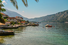 View of Bay of Kotor Royalty Free Stock Photography