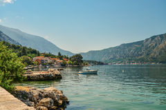 View of Bay of Kotor Royalty Free Stock Images
