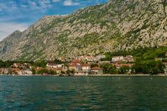 View of Bay of Kotor Stock Image