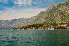 View of Bay of Kotor Royalty Free Stock Image