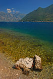 A View of Bay of Kotor from Perast Stock Images