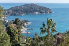 French Riviera. Cape Ferrat Stock Photos