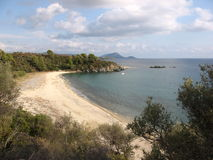 View of the bay on  Sithonia, Greece Royalty Free Stock Images