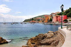 A view of bay of Villefranche-sur-mer, France Royalty Free Stock Photos