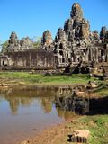 Bayon tample Stock Photo