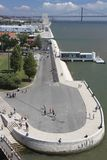 View from Belém tower Royalty Free Stock Image