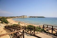 View of beach Stock Image