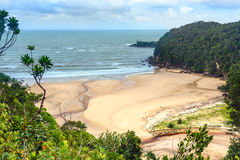 View on the beach in Bako National Park Stock Images