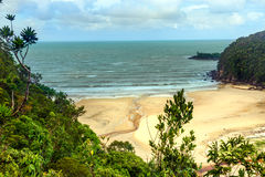View on the beach in Bako National Park Royalty Free Stock Photography