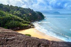 View on the beach in Bako National Park Stock Photography