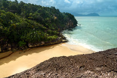 View on the beach in Bako National Park Royalty Free Stock Images