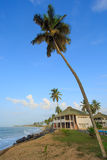 View of beach in Cape Cost, Ghana Stock Image
