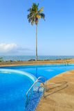 View of beach in Cape Cost, Ghana Royalty Free Stock Photo