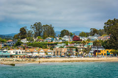 View of the beach in Capitola,  Stock Photos