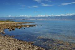 View from the beach. Crvenka, Vir - Croatia Stock Image