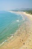 View of the beach. Karnataka, India. Royalty Free Stock Photography