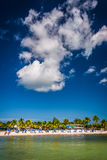 View of the beach in Key West, Florida. Royalty Free Stock Photos