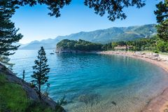 View of the beach of the king. Royalty Free Stock Photos