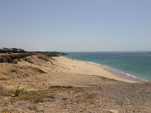 View 55. Beach land in my city tangier Stock Image