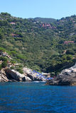 View Of Beach - Monte Argentario, Italy royalty free stock photography