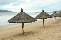 View of the beach in Nha Trang Stock Image