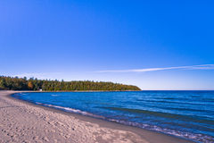 View of a beach in Ontario Canada Royalty Free Stock Images