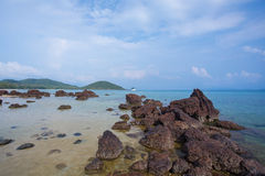 View of a beach Royalty Free Stock Photography