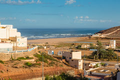 View of the beach in Sidi Ifni Royalty Free Stock Photos