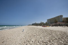 View of beach, Sousse, Tunisia Royalty Free Stock Photo