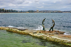 View of the beach in Sydney Stock Photography