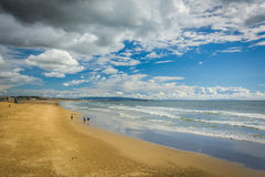 View of the beach in Venice Beach  Stock Photography