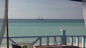 View from beachhouse on Eleuthera Royalty Free Stock Photo
